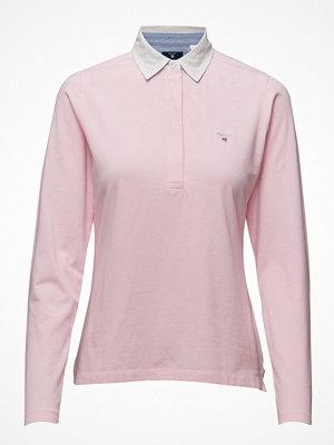 Pikétröjor - Gant Solid Jersey Rugger Ls