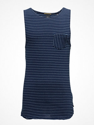 Linnen - Scotch & Soda Singlet In Jersey With Yarn-Dyed Stripe Pattern