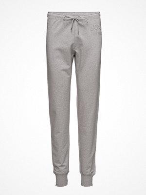 Love Moschino ljusgrå byxor Love Moschino-Trousers