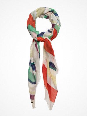 Halsdukar & scarves - Tommy Hilfiger Hilfiger Logo Painted Stp Scarf