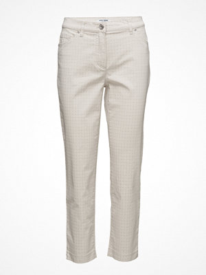 Gerry Weber Edition vita rutiga byxor Trousers Leisure Spe