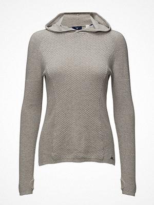 Gant O1. Sporty Textured Cotton Hoodie