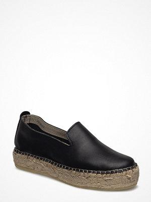 Tygskor & lågskor - Ilse Jacobsen Leather Espadrille
