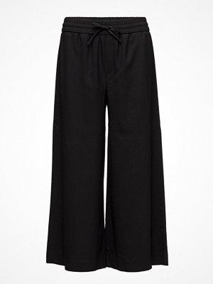 Filippa K svarta byxor Adie Wide Cropped Pants