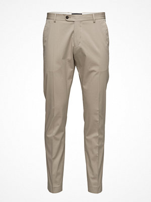 Byxor - Selected Homme Abone-Cotton Sand Trousers