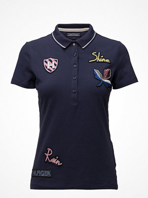 Tommy Hilfiger Tennie Embellished Polo Ss