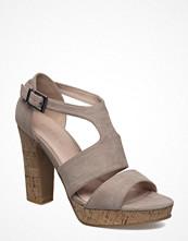 Pumps & klackskor - Bianco Double Strap Sandal Jfm17