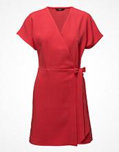 Only Onlbarbara Wrap Dress S/S Wvn