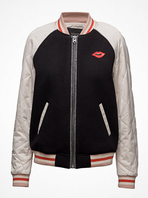 Scotch & Soda Bomber Jacket With Contrast Sleeves