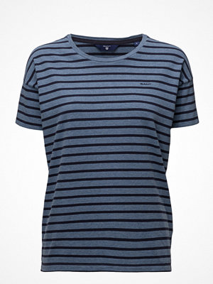 Gant O. Dropped Shoulder Striped T-Shirt
