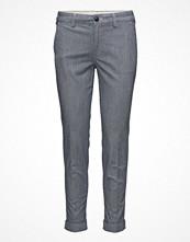 Lee Jeans Slim Chino Navy Pinstripe