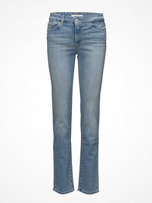 LEVI´S Women omönstrade byxor 712 Slim West End Girl