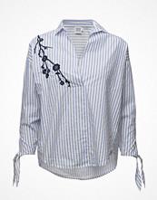Skjortor - Saint Tropez Shirt With Stripes And Emb.