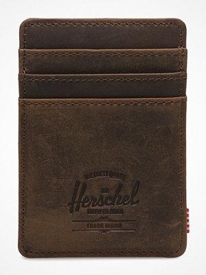 Plånböcker - Herschel Raven Leather Rfid - Nubuck Leather