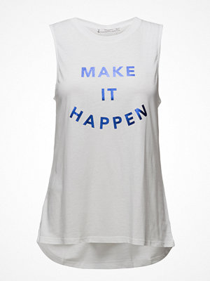Sportkläder - Mango Sports Message Cotton T-Shirt