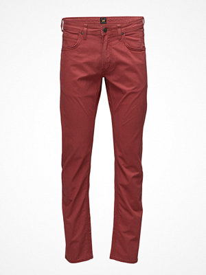 Jeans - Lee Jeans Daren Zip Fly Retro Red