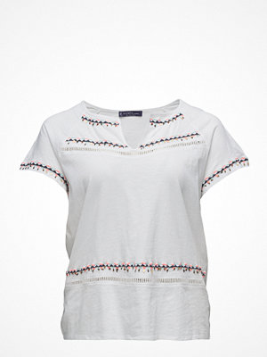 Violeta by Mango Beaded Embroidery T-Shirt