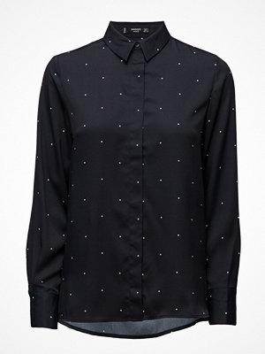 Skjortor - Mango Polka-Dot Print Shirt