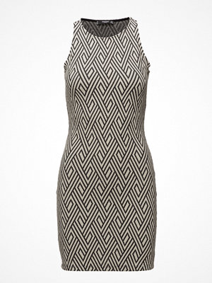 Mango Fitted Textured Dress