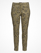 Byxor - Fiveunits Angelie 478 Split, Safari Fern, Pants