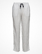 Mango Linen Baggy Trousers