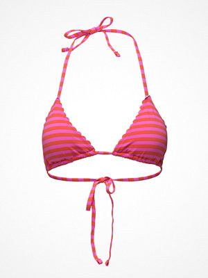 Scotch & Soda Triangle Bikini Top With Scallop Or Embroidered Edges