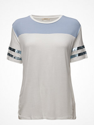 Lee Jeans Color Block Tee Faded Blue