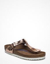 Sandaler & sandaletter - Birkenstock Gizeh Sfb N Led Copper