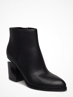 Alexander Wang Gabi Black Tumbled Calf/Rhodium