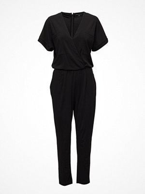 Jumpsuits & playsuits - French Connection Elsa Drape Jersey Ss V Nk Jpst