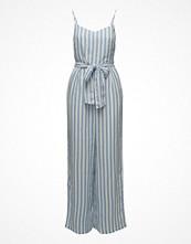 Jumpsuits & playsuits - Mango Linen-Blend Striped Jumpsuit