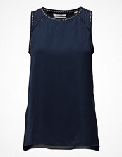 Blusar - Scotch & Soda Sleeveless Silky Feel Top With Ladder Inserts