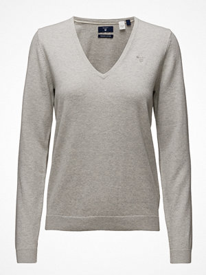 Tröjor - Gant Soft Cotton V-Neck