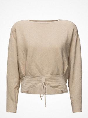 Tröjor - Mango Front Slit Sweater