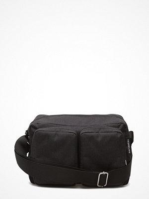 Marimekko svart axelväska Kortteli Shoulder Bag