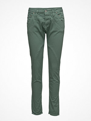 Please Jeans omönstrade byxor New Classic Duck Green