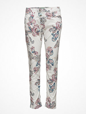 Please Jeans mönstrade byxor Classic Floral