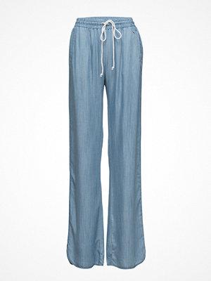 GUESS Jeans himmelsblå byxor Palazzo Pant