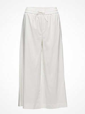 Filippa K vita byxor Adie Wide Cropped Pants