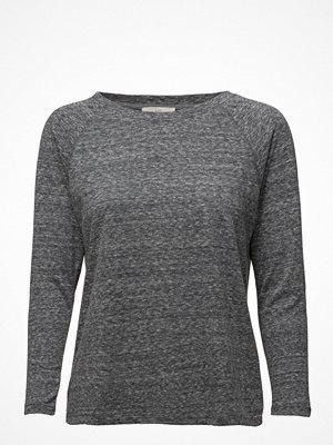 Lee Jeans 3/4 Sleeve Plain Tee Dark Grey Mele