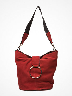 Mango axelväska Leather Hobo Bag