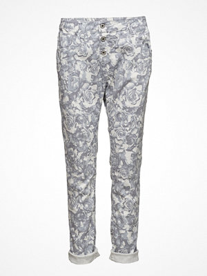 Jeans - Please Jeans Classic White Rose
