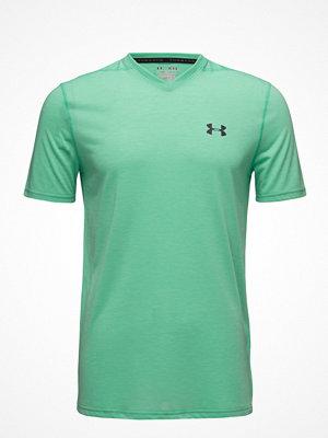 Sportkläder - Under Armour Threadborne Fitted Vneck Ss