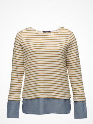 Violeta by Mango Striped Combi Sweatshirt
