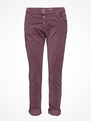 Please Jeans omönstrade byxor Classic Vel. Redwine