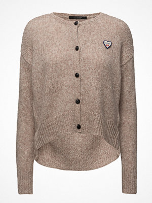 Cardigans - Scotch & Soda Loose Fitted Cardigan With Big Slit At Bottom