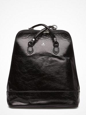 Adax svart ryggsäck Salerno Backpack Lina