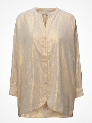 Rabens Saloner Golden Long Sleeve Shirt
