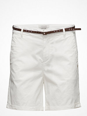 Shorts & kortbyxor - Scotch & Soda Chino Short In Medium Weight Stretch Pima Cotton Old With