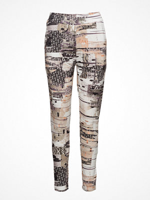 Brandtex mönstrade byxor Pants-Knitted